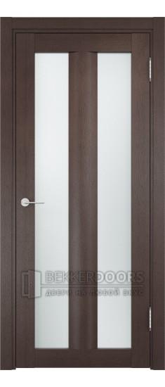 Дверь ПО Тоскана 06 Венге Стекло Сатинато Люкс