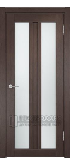 Дверь ПО Флоренция 28 Венге Стекло Сатинато Люкс