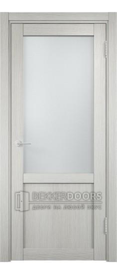 Дверь ПО Баден 04 Слоновая кость Стекло Сатинато Люкс