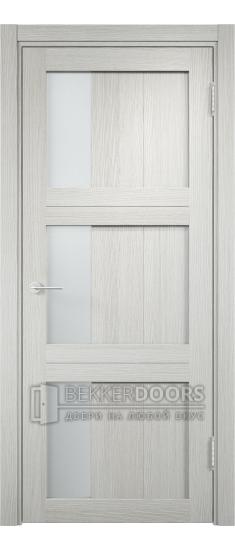 Дверь ПО Баден 06 Слоновая кость Стекло Сатинато Люкс