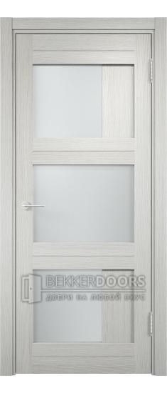 Дверь ПО Баден 08 Слоновая кость Стекло Сатинато Люкс