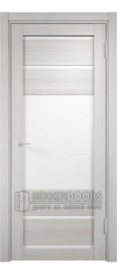 Дверь ПО Мюнхен 12 Слоновая кость Стекло Сатинато Люкс