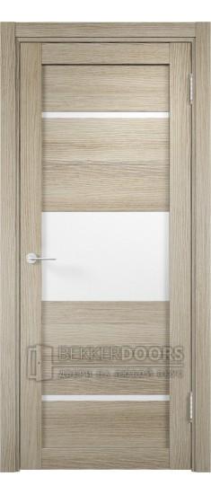 Дверь ПО Мюнхен 13 Дуб дымчатый Стекло Сатинато Люкс
