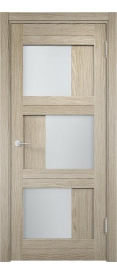 Дверь ПО Баден 10 Дуб дымчатый Стекло Сатинато Люкс