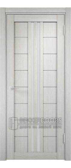 Дверь ПО Берлин 08 Слоновая кость Стекло Сатинато Люкс