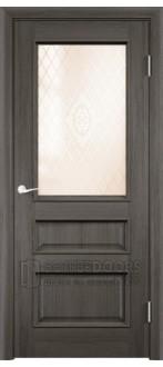Дверь ПО Барселона 4 Дуб антик Стекло Сатинато Люкс