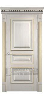Дверь ПГ Версаль Патина золотая
