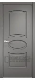 Дверь ПГ Оксфорд 4 Софт графит