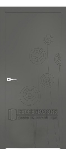 Дверь ПГ Севилья 03 Софт графит