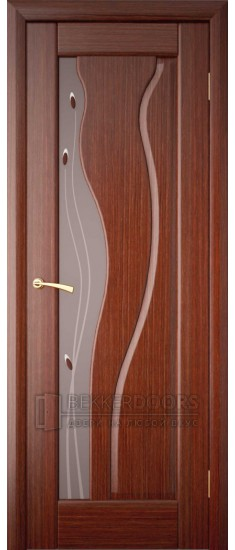 Дверь ПО Афина Темный орех