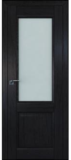 Дверь ПО 2.42XN Дарк Браун  Стекло матовое