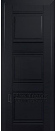 Дверь ПГ 3U Черный матовый