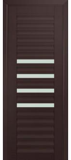 Дверь ПО 55U Темно коричневый Стекло Матовое