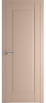 Дверь  ПГ 100U Капучино сатинат