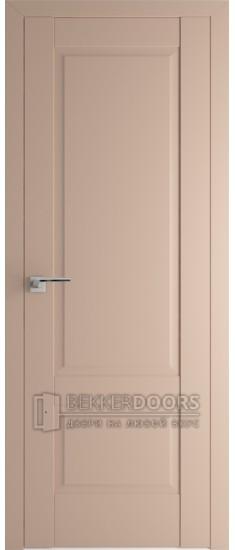 Дверь  ПГ 101U Капучино сатинат