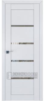 Дверь ПО 2.09U Аляска Стекло Прозрачное
