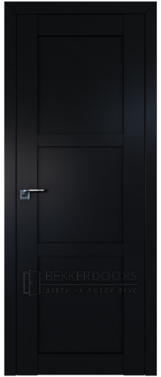 Дверь  ПГ 2.12U Черный матовый
