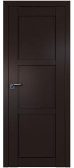 Дверь  ПГ 2.12U Темно коричневый