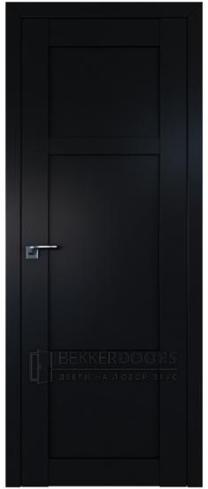Дверь  ПГ 2.14U Черный матовый