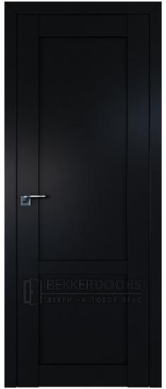 Дверь  ПГ 2.16U Черный матовый