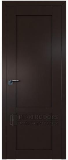 Дверь  ПГ 2.16U Темно коричневый