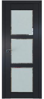 Дверь ПО 2.13U Антрацит Стекло Square матовое