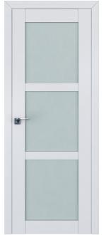 Дверь ПО 2.13U Аляска Стекло Матовое