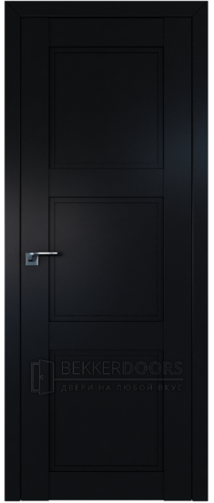Дверь  ПГ 2.26U Черный матовый