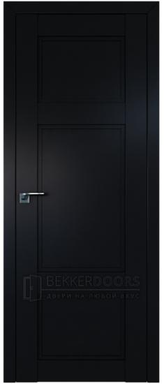 Дверь  ПГ 2.28U Черный матовый