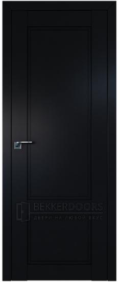 Дверь  ПГ 2.30U Черный матовый