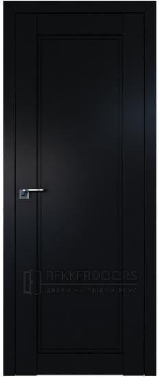 Дверь  ПГ 2.32U Черный матовый