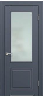 Дверь ПО 2.42U Антрацит Стекло Матовое