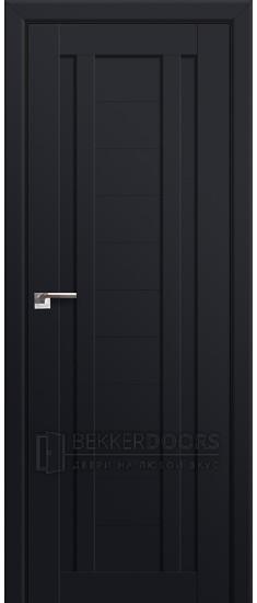 Дверь  ПГ 14U Черный матовый