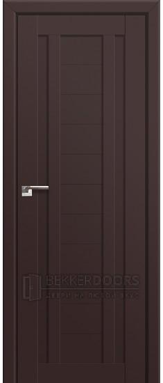 Дверь  ПГ 14U Темно коричневый