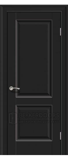 Дверь  ПГ 91U Черный матовый
