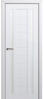 Дверь ПО 15U Аляска Стекло Матовое