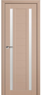 Дверь ПО 15U Капучино сатинат Стекло Матовое