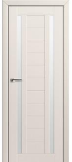 Дверь ПО 15U Магнолия сатинат Стекло Матовое