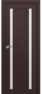 Дверь ПО 15U Темно коричневый Стекло Матовое