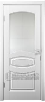 Дверь Аделия ПО  Эмаль белая