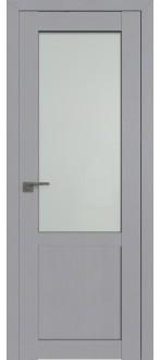 Дверь ПО 2.17STP Pine Manhattan Grey Стекло Матовое