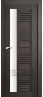 Дверь ПО 31X Грей Стекло Белый триплекс
