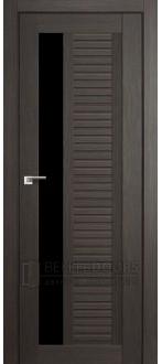 Дверь ПО 31X Грей Стекло Черный триплекс