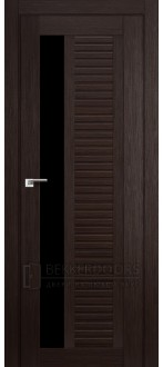 Дверь ПО 31X Венге Стекло Черный триплекс