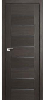 Дверь ПО 45X Грей Стекло Графит