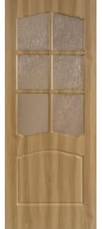 Дверь Альфа ПО Дуб золотистый