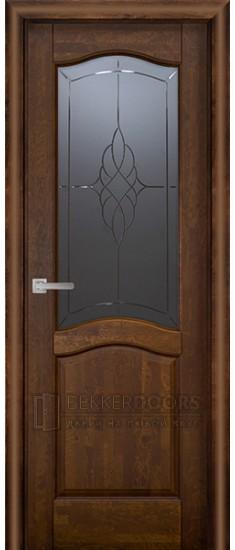 Дверь Лео ПО Античный орех