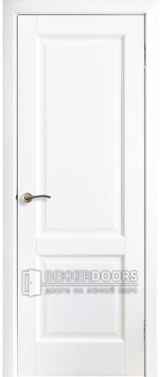 Дверь Профиль 1 ПГ Эмаль белая