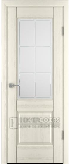 Дверь Профиль 1 ПО Эмаль перламутр