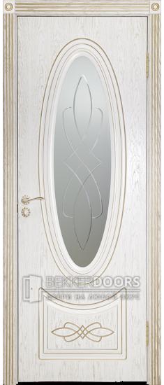 Дверь Венеция 1 ПО Золото Эмаль